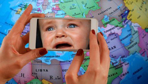 forward child cry