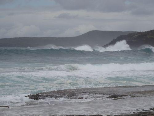 Persiųsti,naršyti,banga,jūra,išsipūsti,vėjas
