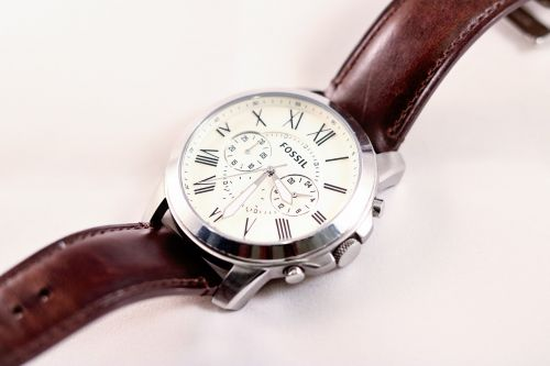 fossil watch formal