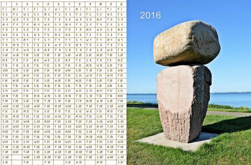 Photo Calendar 2016