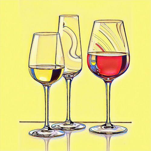 fougères,stiklas,trapi,trys,vynas