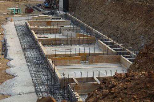 foundations reinforced concrete building