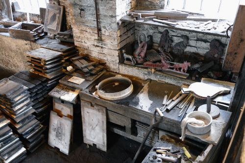 foundry factory metal
