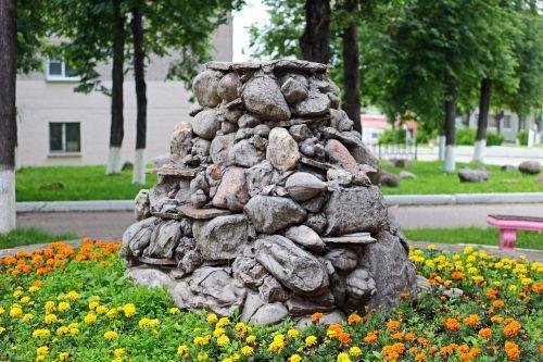 fountain stones of stone fountain