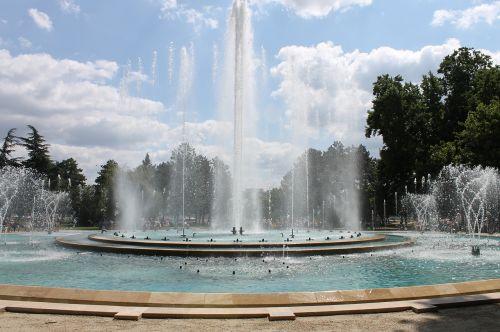 fountain margaret island budapest