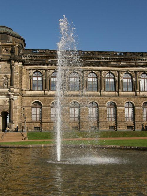 fountain culture facade