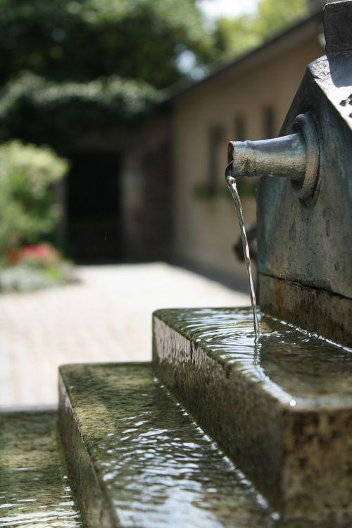 fountain water garden
