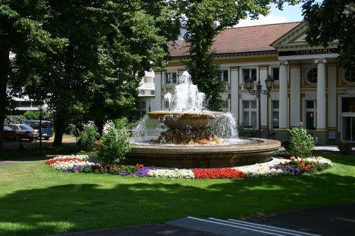 fountain bad neuenahr kurhaus