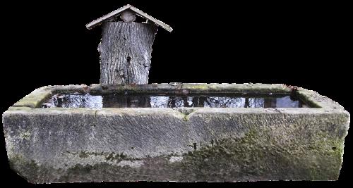 fountain natural stone trim