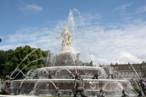 fontanas, kelionė, architektūra, turizmas, miestas, dangus, parkas, paminklas, statula, be honoraro mokesčio