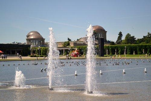 fountain  architecture  wrocław