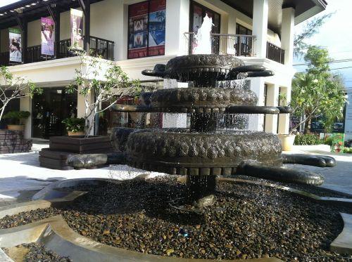 fountain phuket thailand