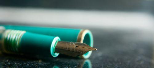 fountain pen write