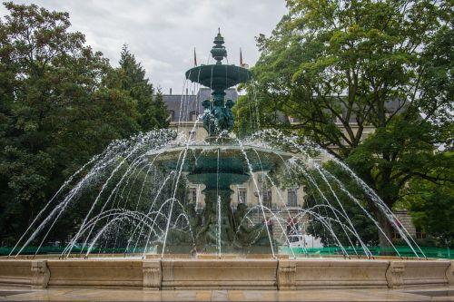 fountain water fountain city