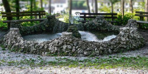 fountain water stone