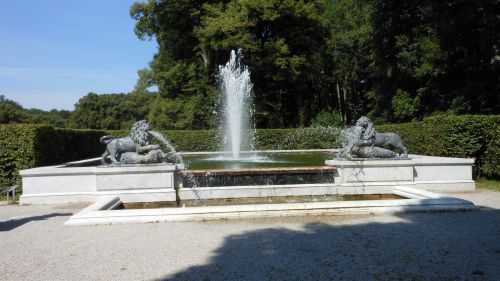 Fountain From Herrenchiemsee Castle