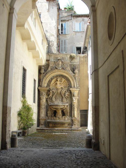 Fountain In Roma