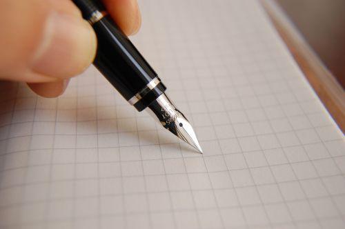 fountain pen ink pen