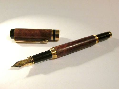 fountain pen wooden pen wooden fountain pen