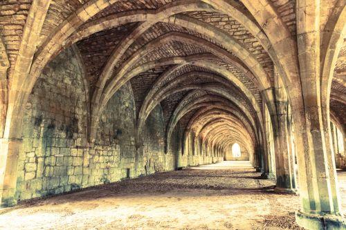 Fountains Abbey Interior