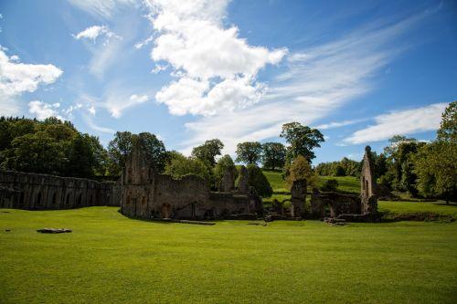 Fountains Abbey, Summer