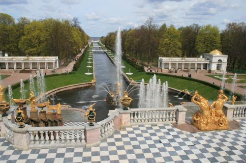 Fountains And Grand Canal