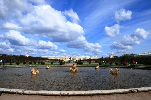 Fountains, Approaching Peterhof