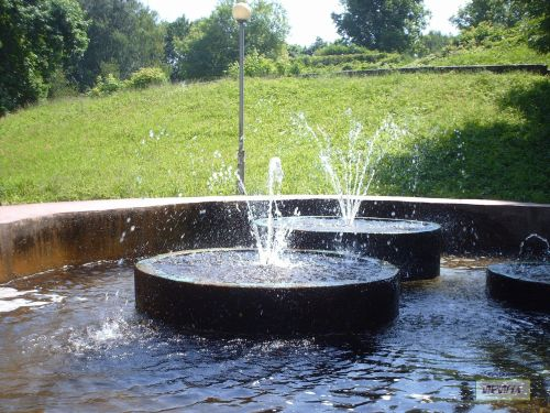 Fountains In The Park Smolensk