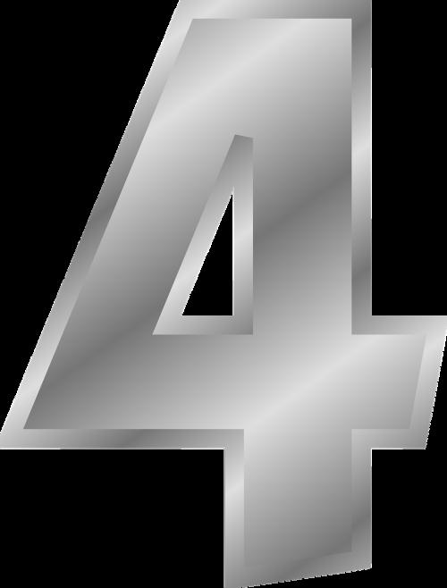 four numeric numeral