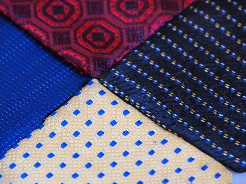 four color neckwear composition