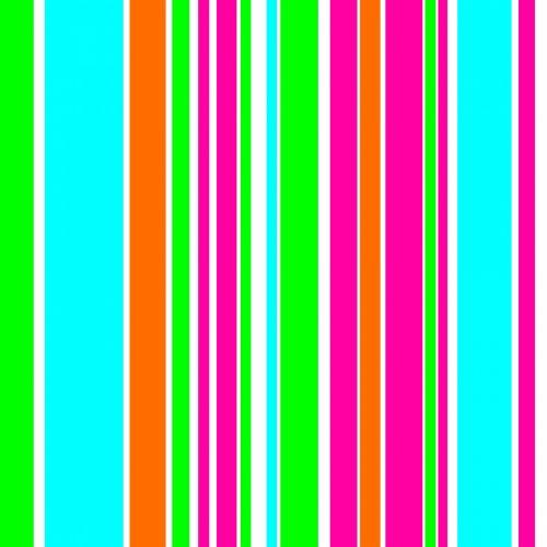 Four Colors Random Bands