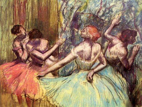 Four Dancers Behind The Scenes II