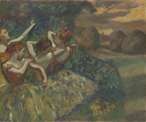 Four Dancers, C. 1899