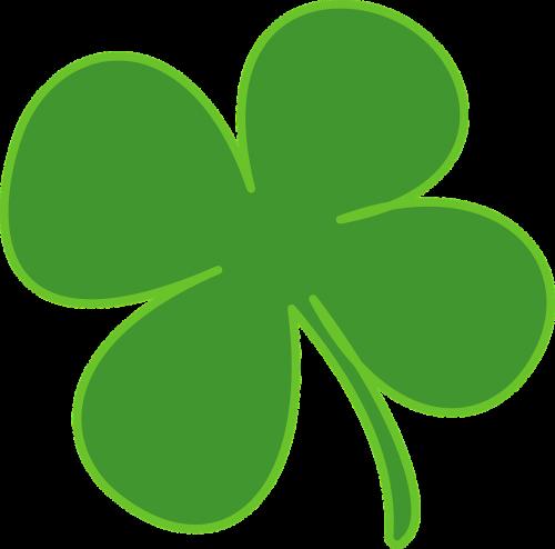 four leaf clover shamrock luck