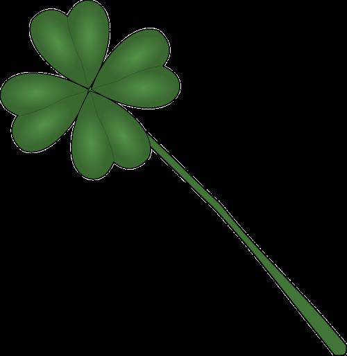 four-leaf clover plant luck