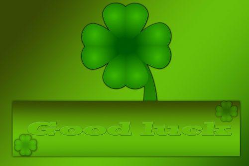 four leaf clover lucky charm symbol of good luck