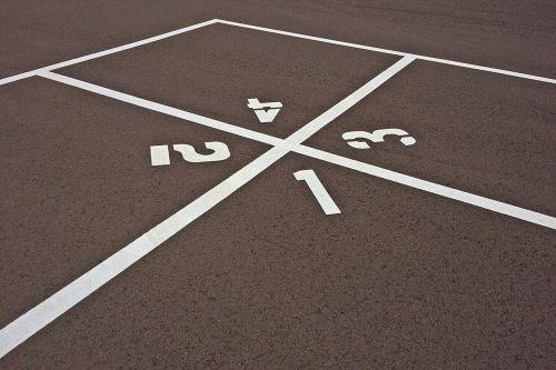 four square playground game