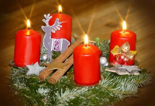 fourth advent  advent wreath  advent