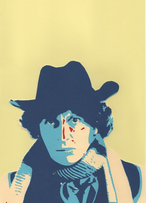 fourth doctor portrait artist dr who