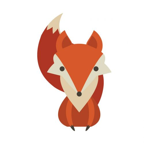 fox animal fall