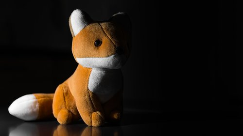 fox  fox plush toy  packshot