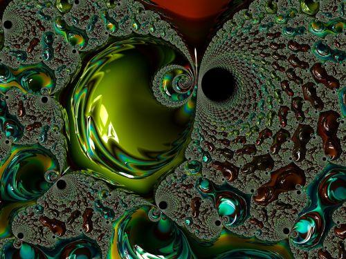 fractal intensive green