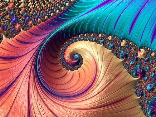 fractal multi colored fantasia