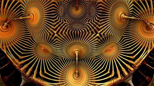 fractal render 3d