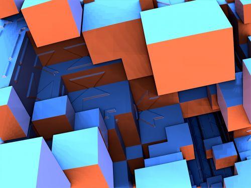 fractal render cube