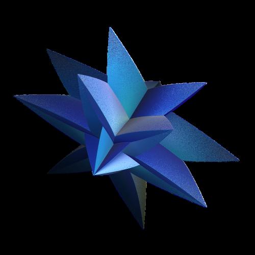 fraktalas,izoliuotas,mėlynas,fantazija,utopija,spalva,skaitmeninis,žvaigždė,mada,3d
