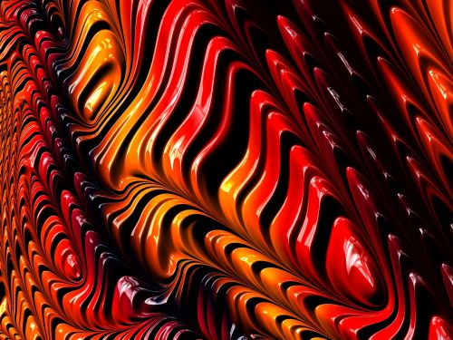 fractal mathematics abstract