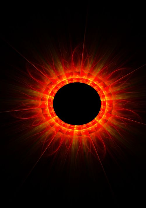 fractal sun flame