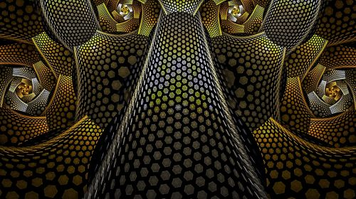 fractal hexagon geometry