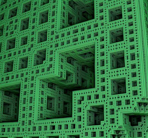 fractal mathematics backdrop
